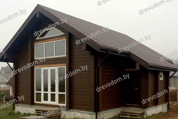 Проект № 773  деревянный дом из профилированного бруса ООО ДревоДом