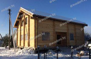 Проект деревянного дома №136