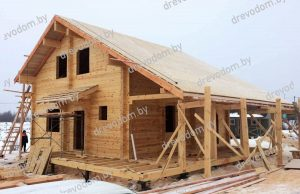 Проект деревянного дома №247